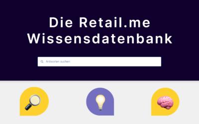 Die Retail.me Wissensdatenbank für Hersteller und Händler